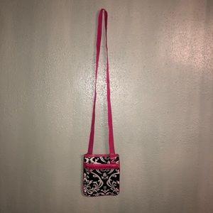 Handbags - Women's Damask Crossbody Purse